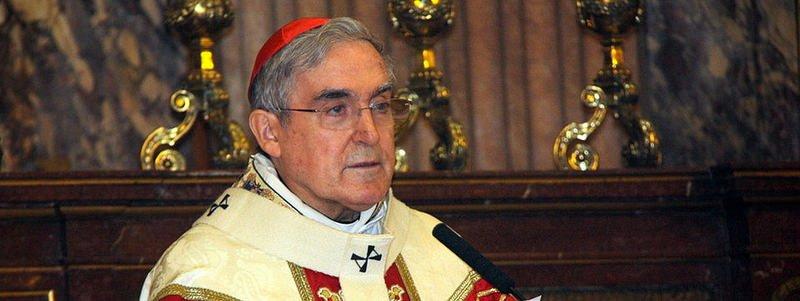 """Cardenal Sistach: """"No corresponde a la Iglesia proponer una opción concreta"""" el 27-S"""