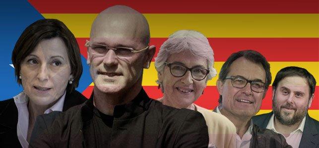 Los independentistas sacan mayoría absoluta ajustada el 27S en Cataluña pero solo con el 44% del voto