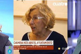 """Luis Balcarce le canta las cuarenta a Carmena: """"Es una memez que diga que es una huérfana mediática"""""""