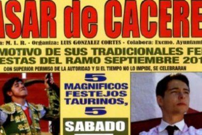 Presentado el cartel taurino de las Fiestas del Ramo 2015 en Casa de Cáceres