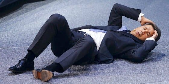 La impactante caída del CEO de BMW en la Feria del Automóvil
