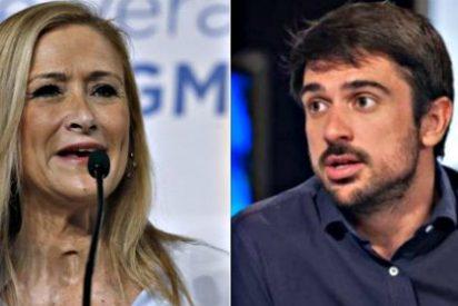 'Zasca' en Twitter de Cristina Cifuentes al diputado podemita Ramón Espinar