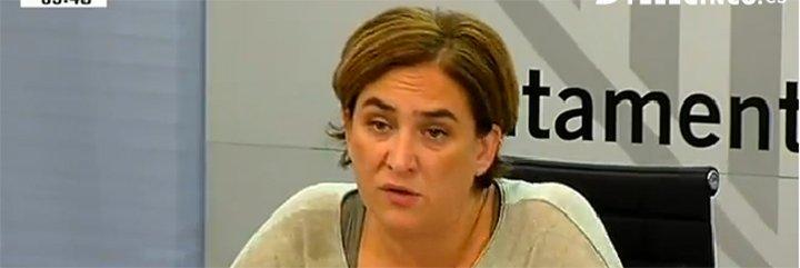 """Esperanza Aguirre descerraja a la antidesahucios Colau: """"Si multa a los bancos por tener pisos vacíos, ¿por qué no se multa a sí misma por los 400 que tiene el Ayuntamiento?"""""""