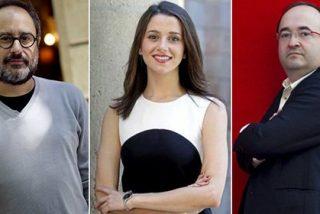 Inés Arrimadas, Miquel Iceta y Antonio Baños, 'ganadores' de las elecciones en Twitter