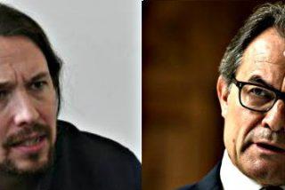 """Pablo Iglesias: """"Le vamos a dar sexo y látigo a Artur Mas"""""""