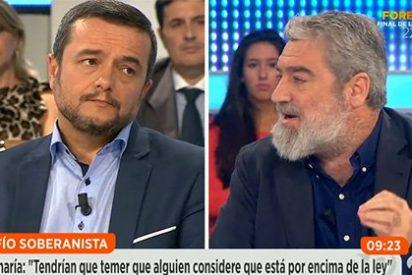 """El 'modosito' Chema Crespo a MAR: """"Tú dices barbaridades y yo trato de razonar"""""""