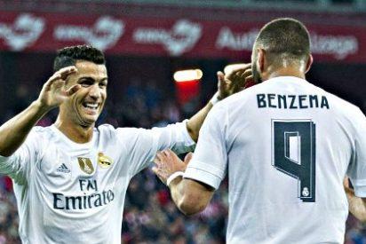 Benzema pone líder de Liga al Real Madrid que le gana 1-2 a un corajudo Athletic de Bilbao