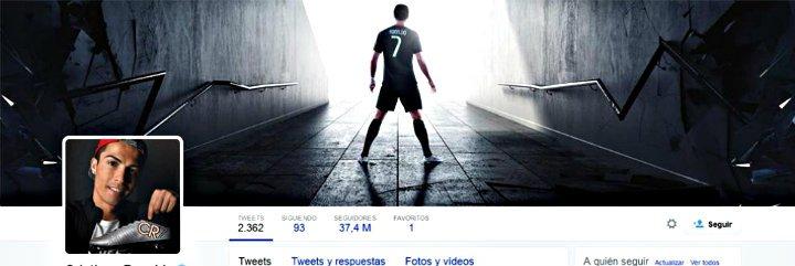 Cristiano Ronaldo, además de 'Rey del Gol', es también el 'Rey Midas' del Twitter mundial