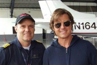 De esta forma se salvó Tom Cruise de morir en un horrible accidente aéreo