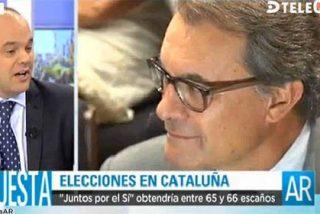 """José Carlos Díez: """"Cataluña financieramente está en la misma situación extrema que Grecia"""""""