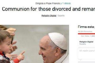 La petición para pedir al Papa y al Sínodo la comunión de divorciados vueltos a casar supera las diez mil firmas