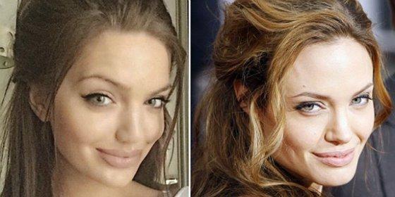 La doble de Angelina Jolie de la que nadie puede dejar de hablar es oficinista