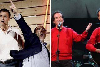 """Carlos Cuesta se harta de cómicos y bailaores: """"El Dúo Dinámico Sánchez-Iceta se ha entregado a los nacionalistas"""""""