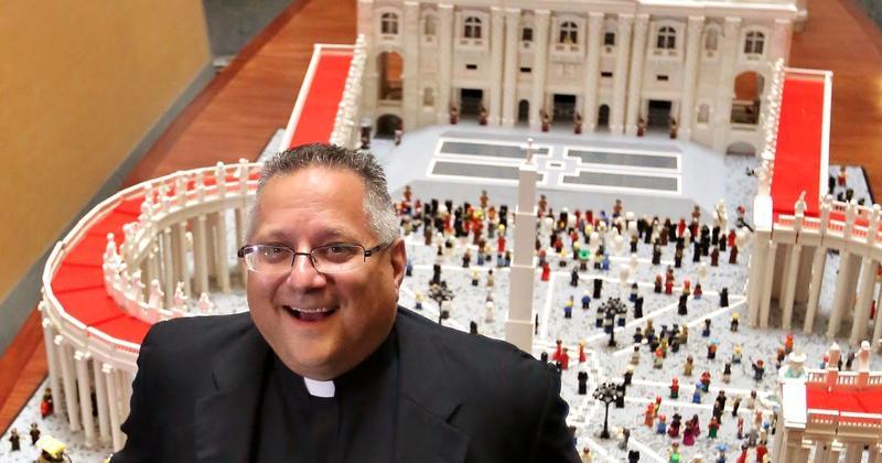 El Vaticano...de Lego