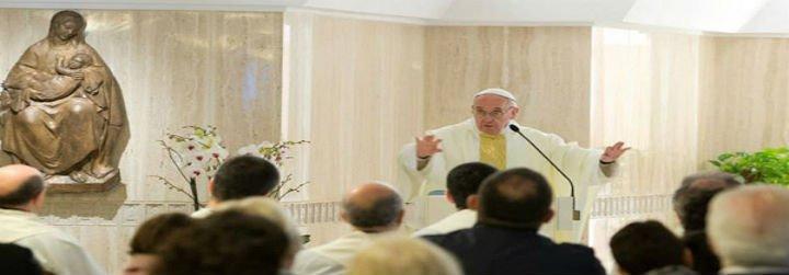 """Francisco: """"Si no sabes perdonar, no eres cristiano"""""""