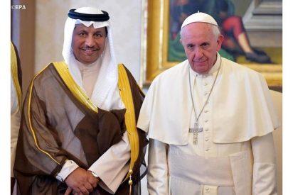 El Papa y el primer ministro de Kuwait constatan importancia de la educación