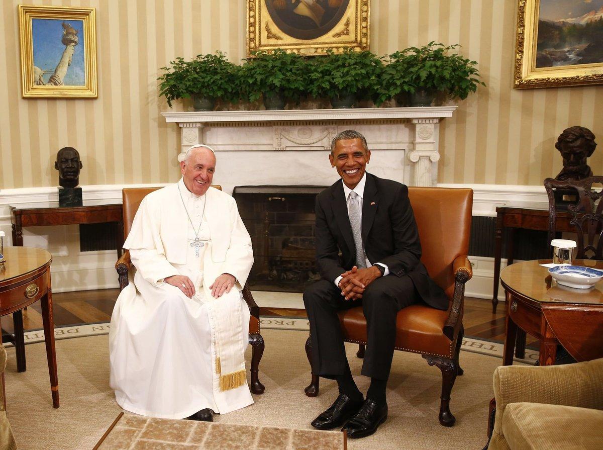 El Papa de los pobres en la Casa Blanca