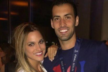 Busquets le presenta a Alejandro Sanz a su novia