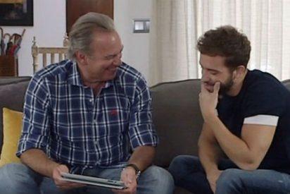 Bertín Osborne convence con su 'no-entrevista' a Pablo Alborán aunque no puede con 'Top Chef'