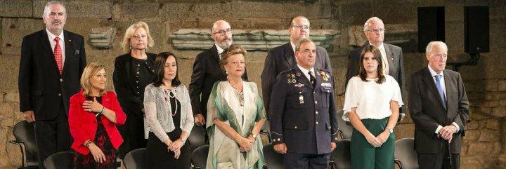 La sociedad civil, auténtica protagonista en la entrega de las Medallas de Extremadura