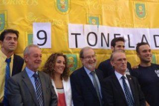 Mensajeros de la Paz recibe más de 9 toneladas de material escolar recogidas en su campaña