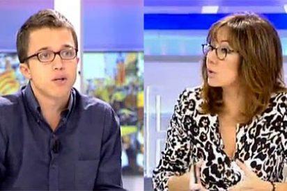 """Ana Rosa vacila a Errejón por llegar tarde al programa por culpa del tráfico: """"¡Habla con Carmena!"""""""