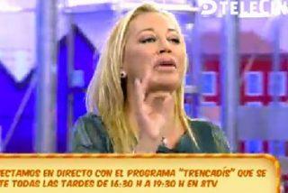 """Belén Esteban le manda un recado a Karmele, la independentista: """"¡A TV3!"""""""