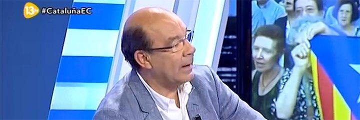 """Ángel Expósito le mete un buen meneo a Artur Mas: """"La independencia para Cataluña es una puta ruina"""""""
