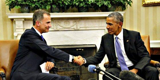 """Barack Obama a Felipe VI a propósito de Cataluña: """"Queremos una España fuerte y unida"""""""