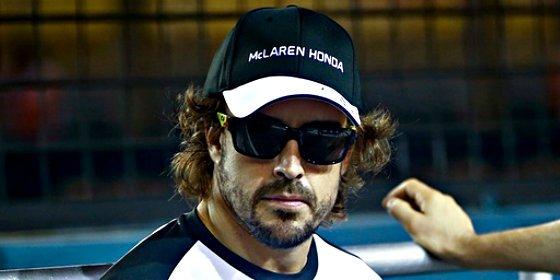 Fernando Alonso empieza con buen pie en una sesión dominada por Rosberg