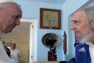 Francisco visitó a Fidel en su domicilio en La Habana