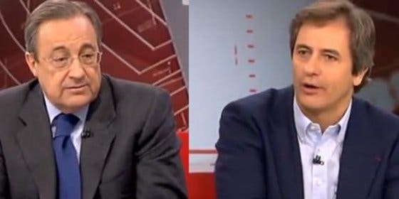 """El 'reencuentro' de Florentino Pérez con Manolo Lama: """"Somos como los matrimonios, después de tantos años ya se perdona todo"""""""
