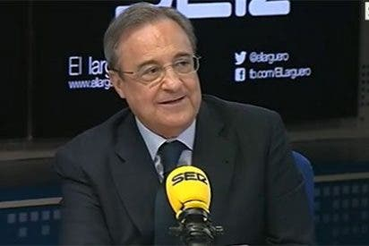 """Florentino Pérez: """"Hasta en Barcelona se asombran de cómo nos trata la prensa de Madrid"""""""