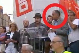 La doble vida del reportero de TVE que da mítines contra el PP gallego