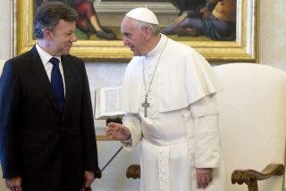 El presidente de Colombia apoyaría un encuentro del Papa con las FARC en La Habana