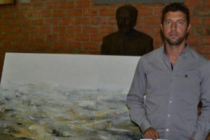 Javier Fernández Carretero ganador del XVI Certamen de Pintura FIG 2015