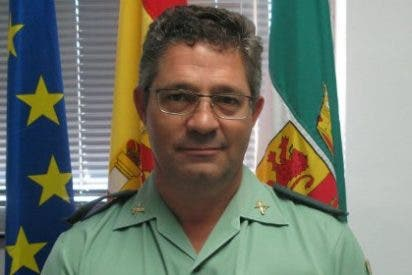 El guardia civil cacereño Francisco Morcillo, galardonado por su labor en el Plan Director