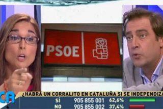El PSOE se despelleja en 13TV: El asesor de comunicación de Pedro Sánchez enseña la puerta de salida a la expedientada Martu Garrote