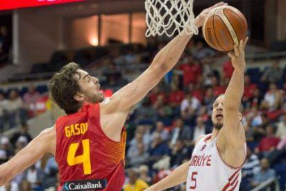 España logra la primera victoria del Eurobasket arrollando (77-104) a Turquía