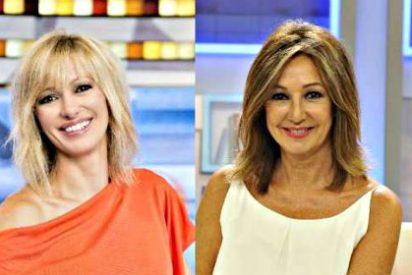 Ana Rosa (16,7%) gana a Susana Griso el primer cara a cara (13,9%) de la nueva temporada