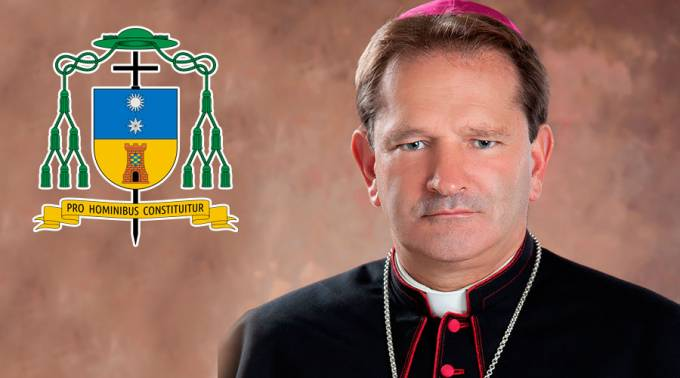 Hugo Alberto Torres Marín obispo de Apartadó (Colombia)