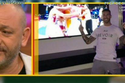 """Hermel estalla tras la celebración de Sergio Ramos: """"Me ha dejado con el culo al aire"""""""