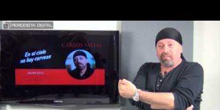 Carlos Salem, autor de 'En el cielo no hay cerveza', 12-6-2015