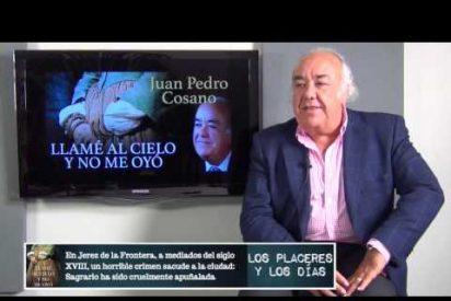 Juan Pedro Cosano, autor de 'Llamé al cielo y no me oyó'. 21-5-2015