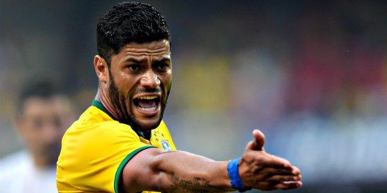 Hulk da la victoria por la mínima a Brasil ante Costa Rica