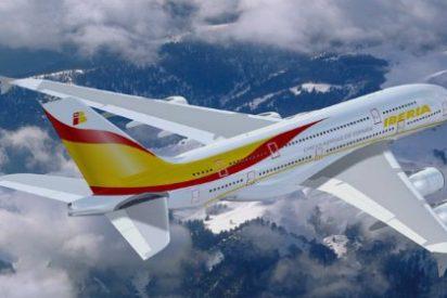 Iberia transportó más de dos millones de pasajeros en agosto