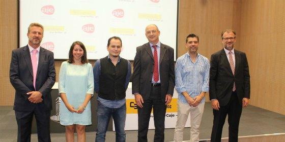 Ibercaja y AJE Extremadura colaboran para impulsar nuevos proyectos empresariales