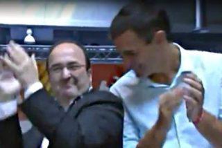 El vídeo y los mejores 'memes' del baile que se han marcado Miquel Iceta y Pedro Sánchez en Cataluña