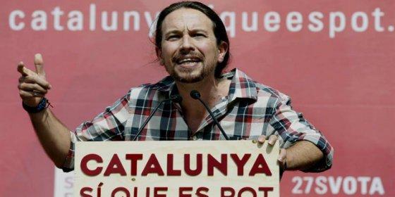 """Iglesias enarbola su propia bandera y pide que """"no tomen más el pelo a la gente"""""""