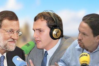Los líderes políticos buscan la 'pole' en las radios